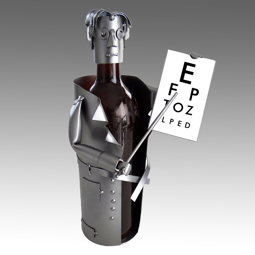 Eye Doctor Wine Bottle Holder