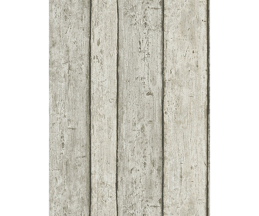 Wooden Planks Taupe 6827-37 Wallpaper