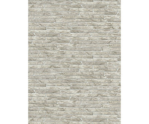 Stone Wall Textured Beige 6828-02 Wallpaper