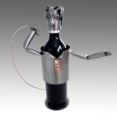 Singer Wine Bottle Holder