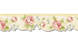Floral NUT1704 Wallpaper Border