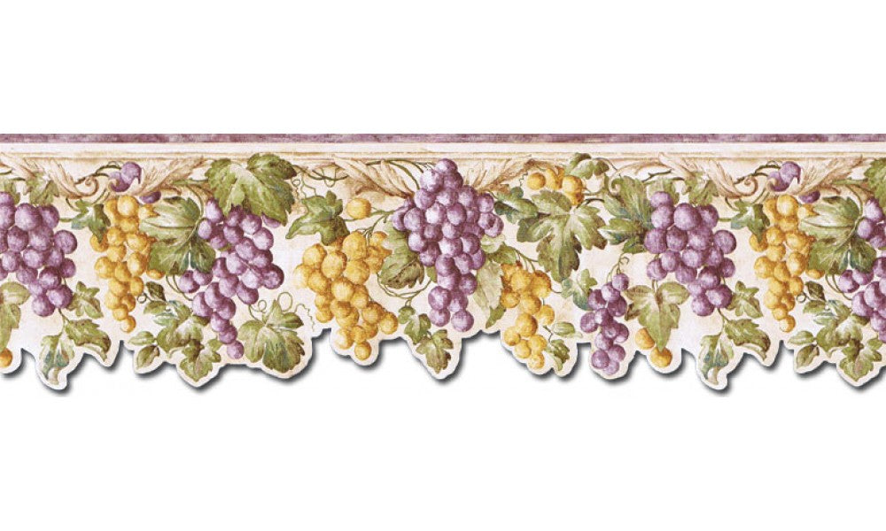 Grape Fruits FF22020DB Wallpaper Border