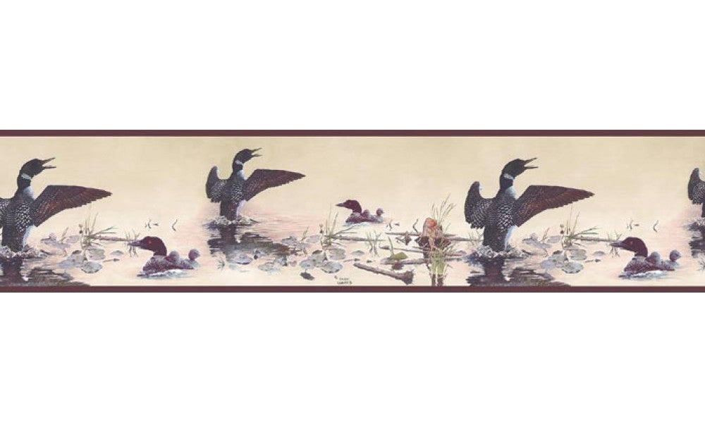 Birds GL76347 Wallpaper Border