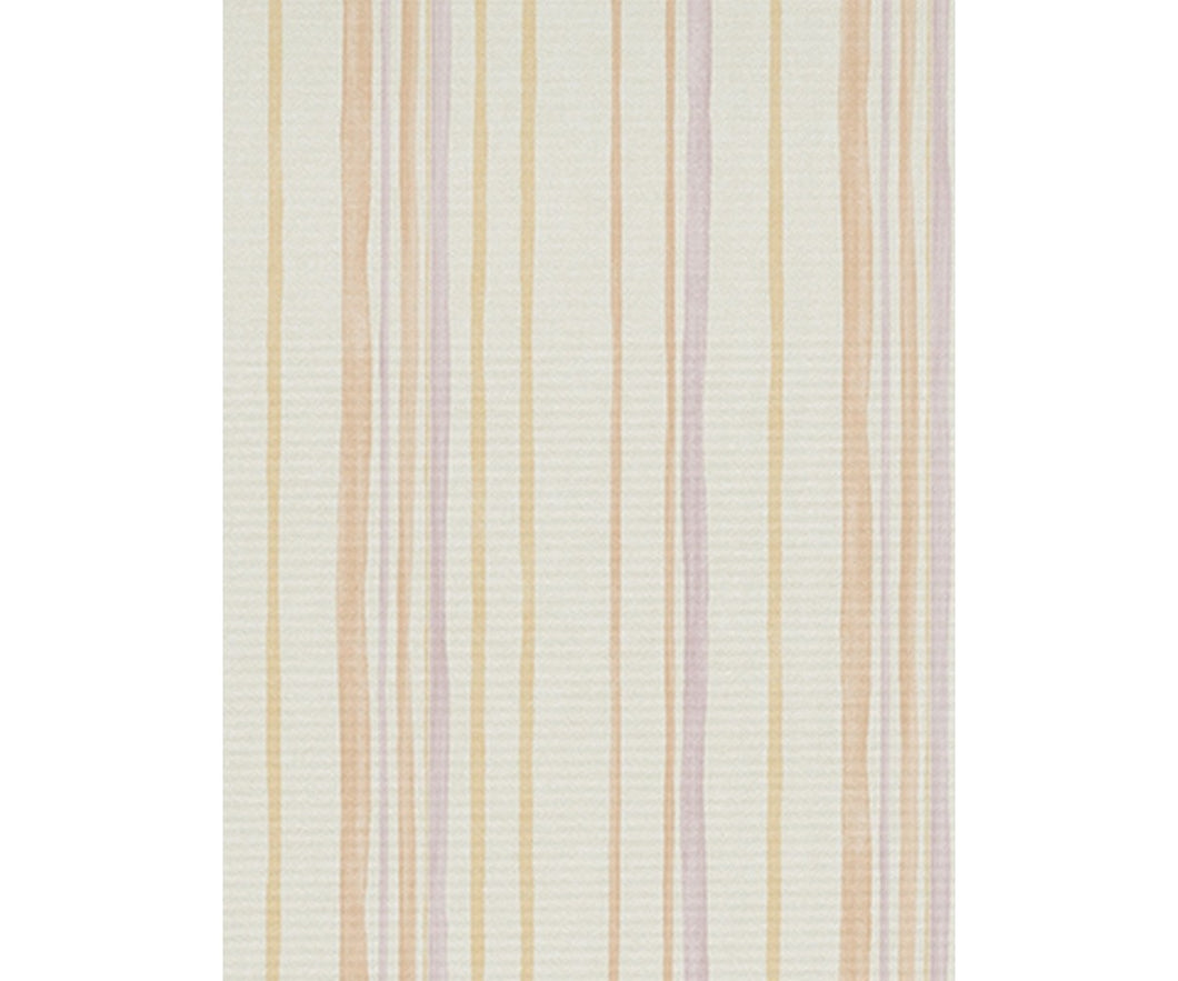 Pastel Stripes Purple Orange 7323-04 Wallpaper