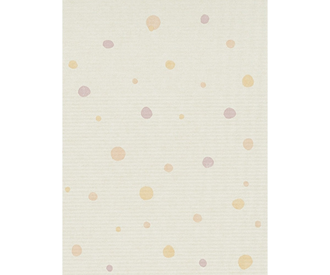 Textured Dots Grey Orange 7325-04 Wallpaper