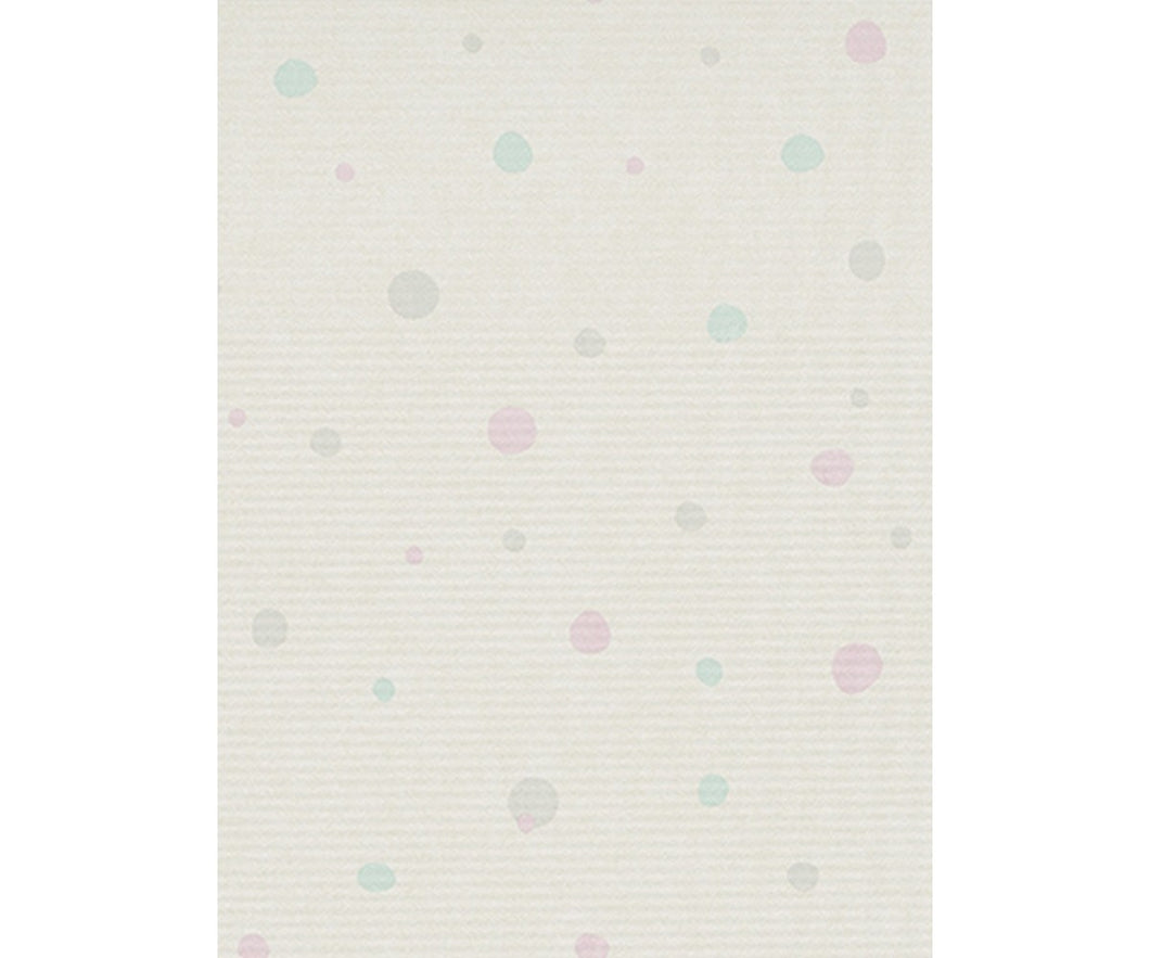 Textured Dots Grey Rose Blue 7325-05 Wallpaper