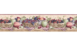 Fruits CJ80021B Wallpaper Border