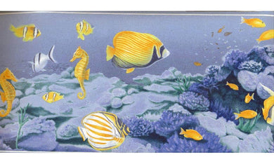 Under Sea Fish World OA72888 Wallpaper Border