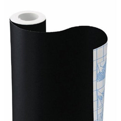Black Solid Contact Paper
