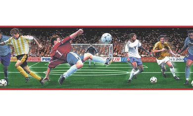 Football B74884 Wallpaper Border