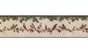 Birds B30036 Wallpaper Border