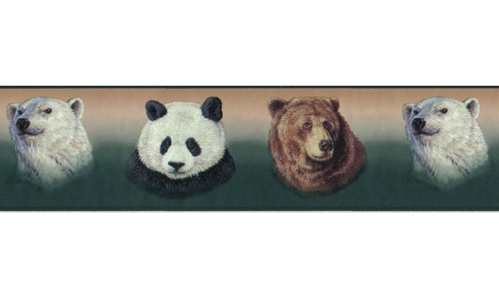 Animals B3413GB Wallpaper Border
