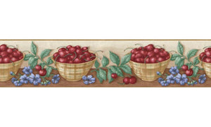 Fruits B06103 Wallpaper Border