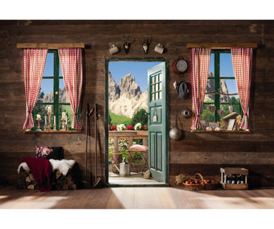 Dolomiti Mountains 8-955 Wall Mural