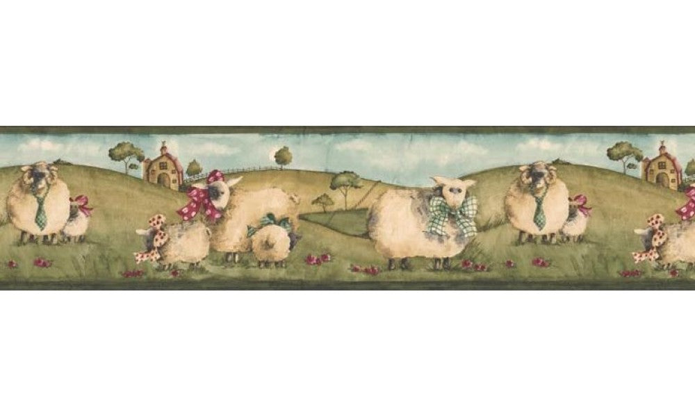 Animals NC76754 Wallpaper Border