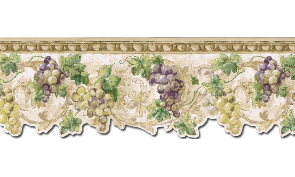 Grape Fruits TH29032DB Wallpaper Border