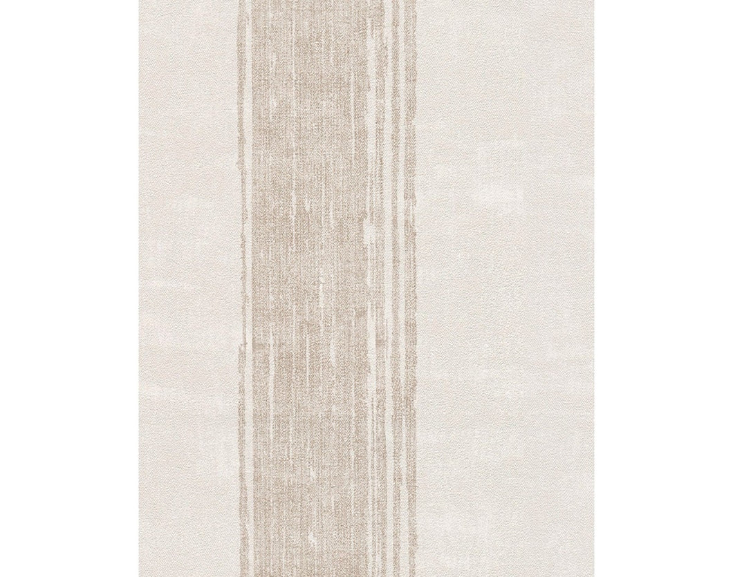 Textile Stripes Cream Beige 939036 Wallpaper
