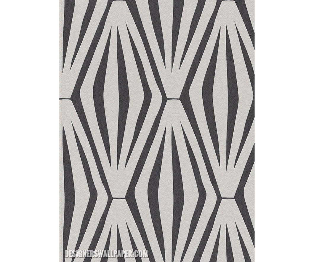 Graphic Geometric Grey Black Metallic 944047 Wallpaper