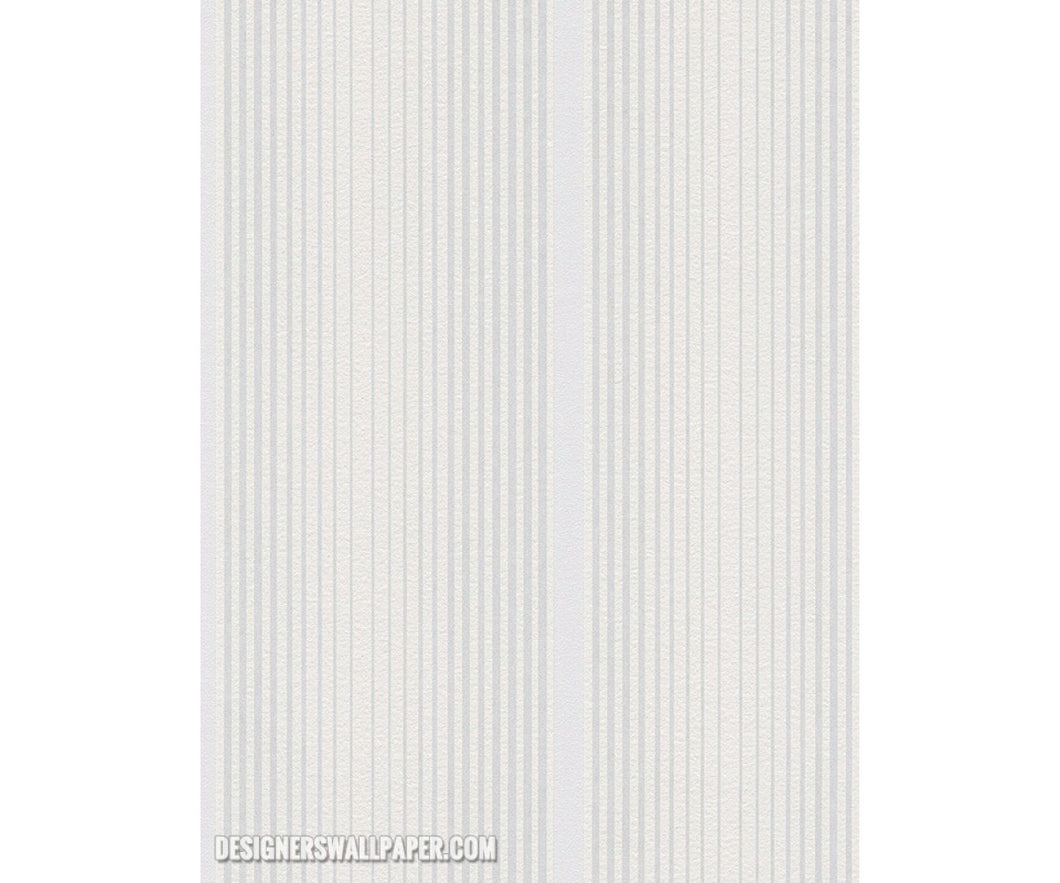 Graphic Stripes White Metallic 944214 Wallpaper