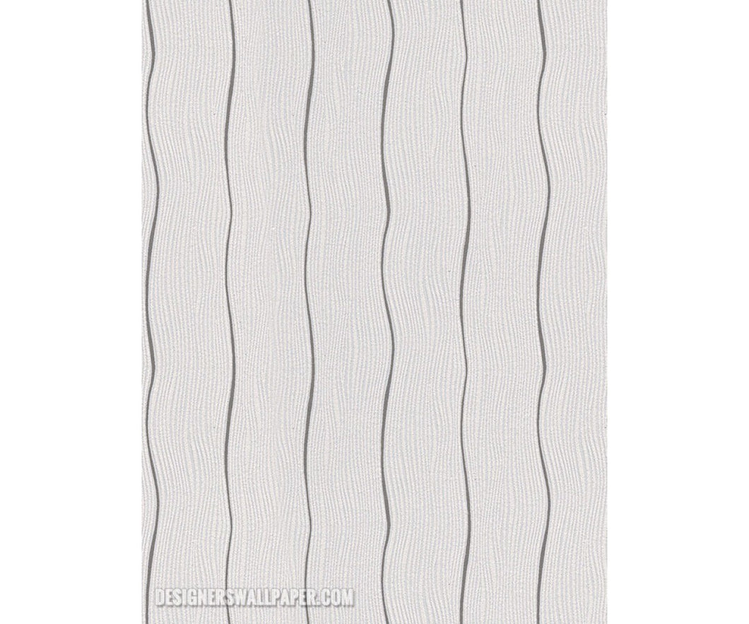 Wavy Stripes White Grey 945020 Wallpaper