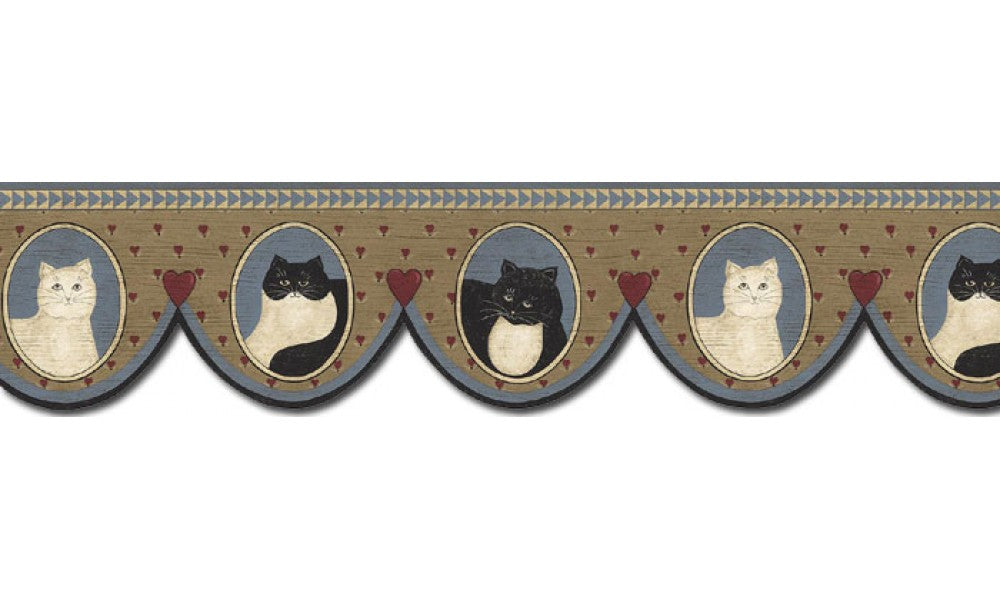 Cats AP75688DC Wallpaper Border
