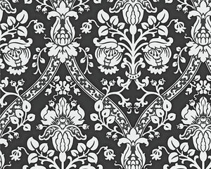 Metallic Black Black & White 3 956895 Wallpaper