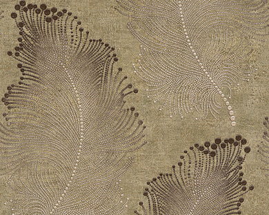 Brown Green Bohemian Burlesque 960451 Wallpaper
