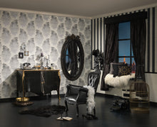 Load image into Gallery viewer, Metallic Black Bohemian Burlesque 960456 Wallpaper