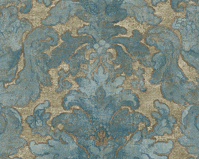 Blue Brown Bohemian Burlesque 960461 Wallpaper
