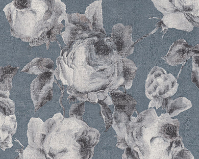 Blue Grey Bohemian Burlesque 960506 Wallpaper