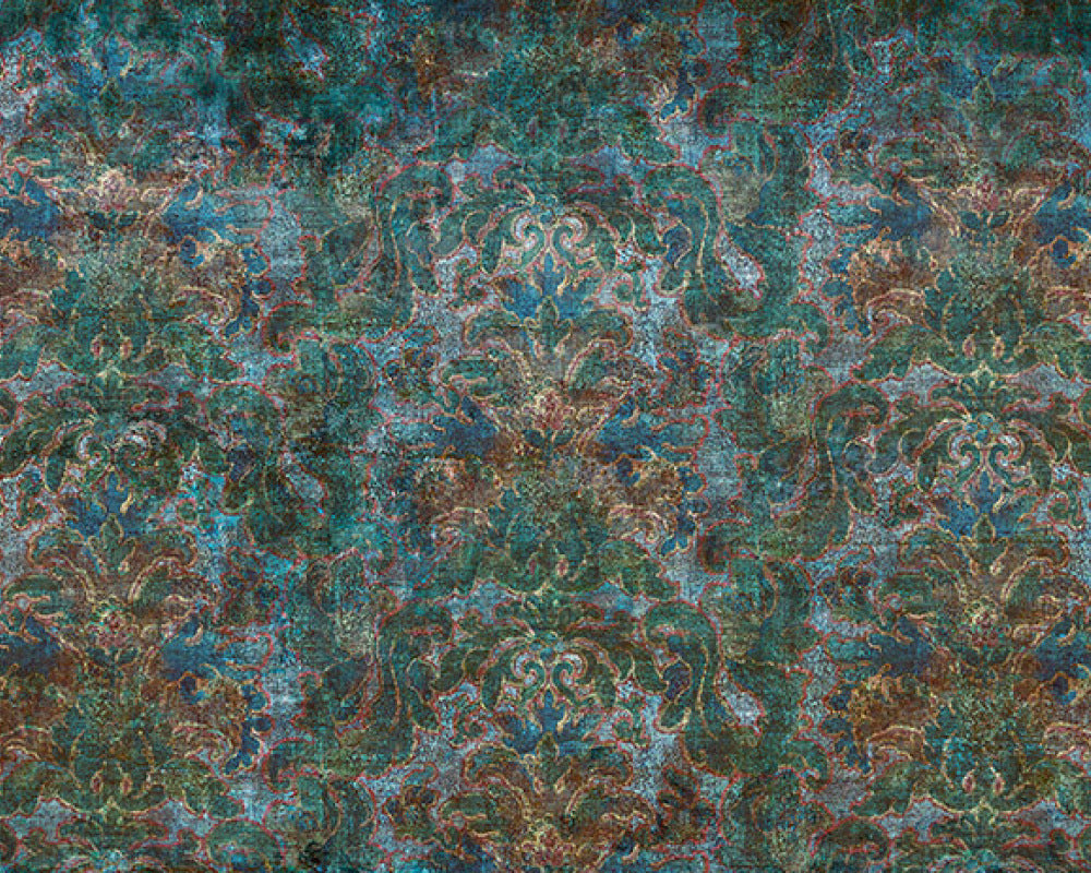 Blue Green Bohemian Burlesque 963171 Wall Mural