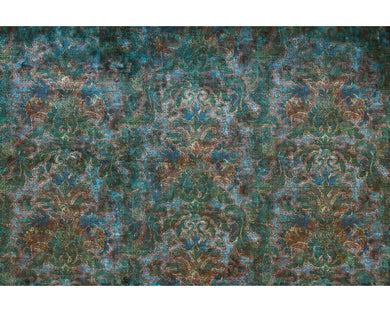 Blue Green Bohemian Burlesque 963174 Wall Mural