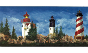 Lighthouse WT1122 Wallpaper Border