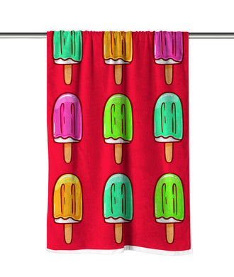 Helado Velour Beach Towel