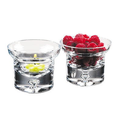 Galaxy Glass Tea Lites Set of 4