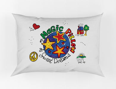 Magic Pillow Painting Kit Pillowcase