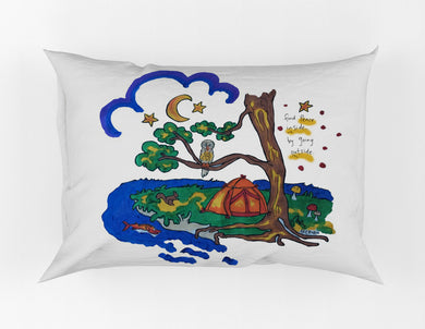 Peaceful Camping Painting Kit Pillowcase