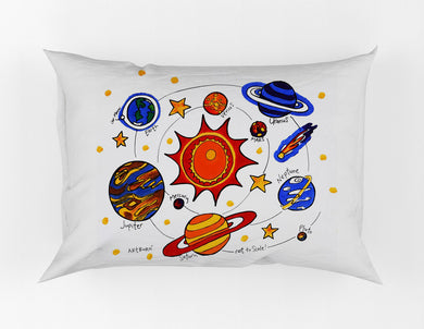 Solar System Painting Kit Pillowcase