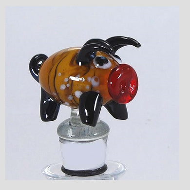 Ochre Pig Hand Crafted Bottle Stopper