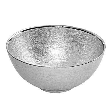 Glamour Silver Leaf 6 inches Round Bowl