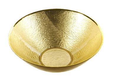 Glamour Gold Leaf  Bowl