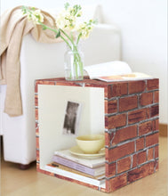 Load image into Gallery viewer, Brick Contact Paper Shelf Liner DBS01GP