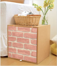 Load image into Gallery viewer, Brick Contact Paper Shelf Liner DBS02GP