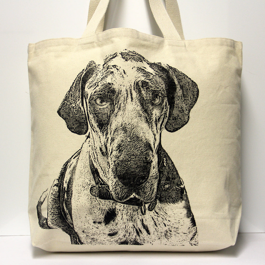 Great Dane Tote Bag Large