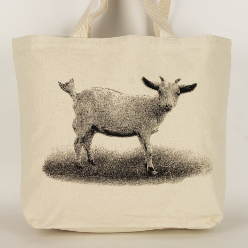 Baby Goat Tote Bag Large