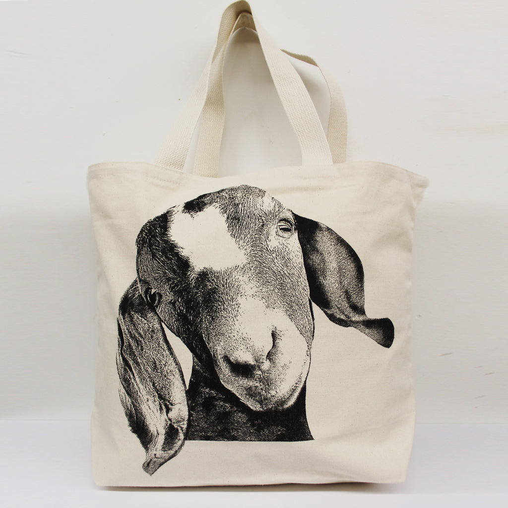 Goat Head Tote Bag Large