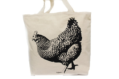 Hen Full Tote Bag Large