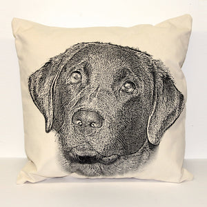 Lab Decorative Pillow Large