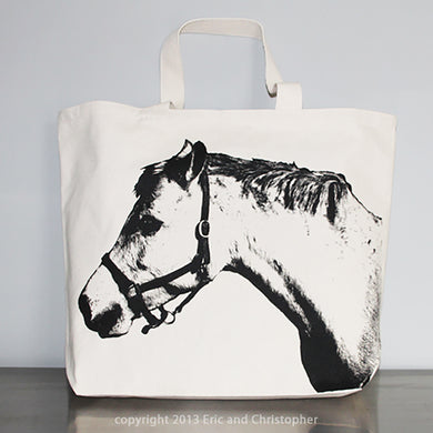 Horse Tote Bag Large