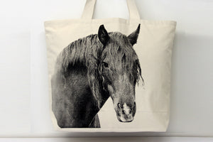 Horse 2 Tote Bag Large